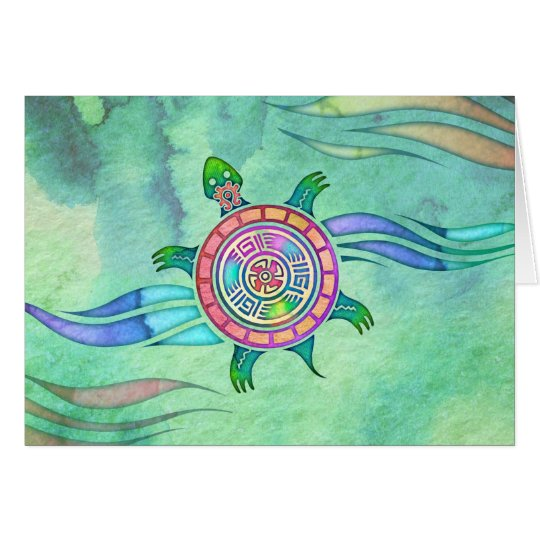 Spirit Turtle Blank Notecard