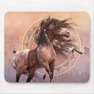 Spirit Warrior Art Mousepad