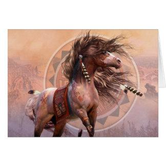 Spirit Warrior Deluxe Designer A7 Noteard Card