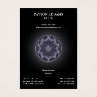 Spirit Wheel Artwork • Vertical Business Card
