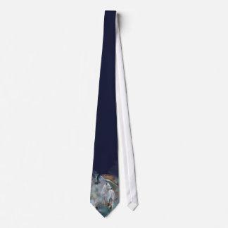 Spirit Wolf Art Tie