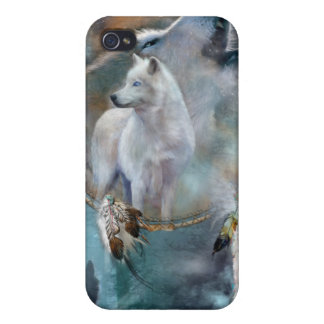 Spirit Wolves Art Case for iPhone4