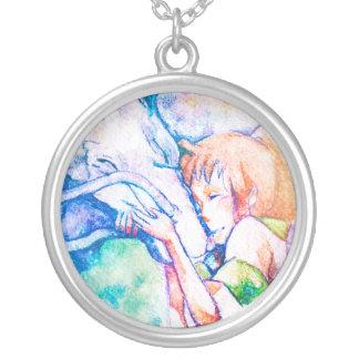 Spirited Away - Friends Round Pendant Necklace