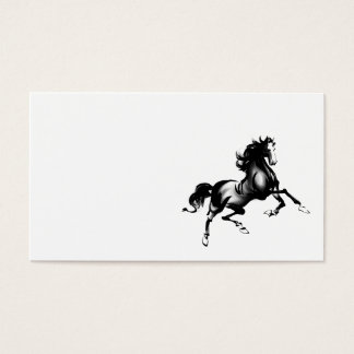 SPIRITED HORSE BUSINESS CARD