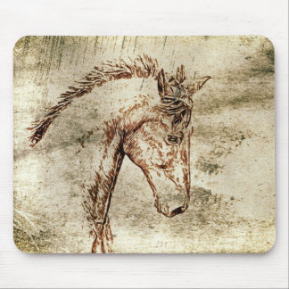 Spirited Horse Mouse Pad