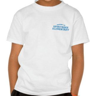 Spiritridge Elementary Kids Basic Tee (White)