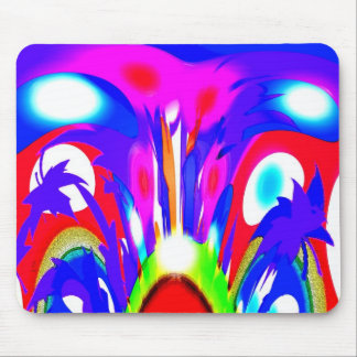 Spirits in the seasons mouse pad