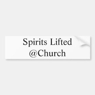 Spirits Lifted @Church sticker