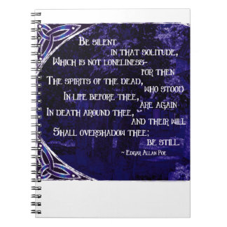 Spirits of the Dead in Violet Spiral Note Books