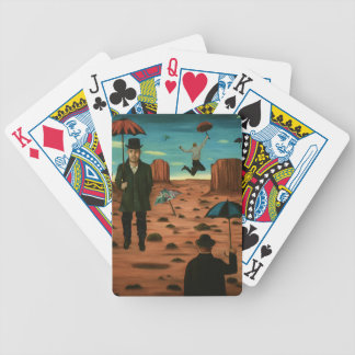 spirits of the flying umbrellas bicycle playing cards