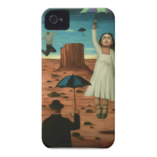 spirits of the flying umbrellas iPhone 4 case