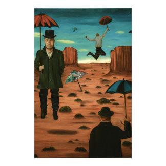 spirits of the flying umbrellas stationery