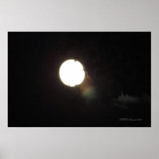 Spirits On A Moonlit Night Poster
