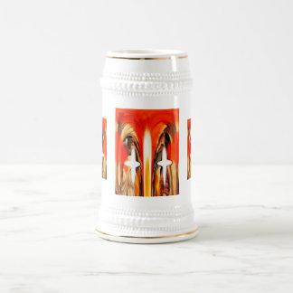 Spirits together beer stein