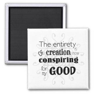 Spiritual Affirmation Magnet - Conspiring for Good