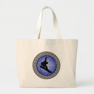 Spiritual Altitude Large Tote Bag