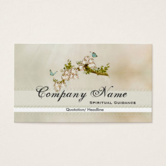 Spiritual Butterfly Business Cards