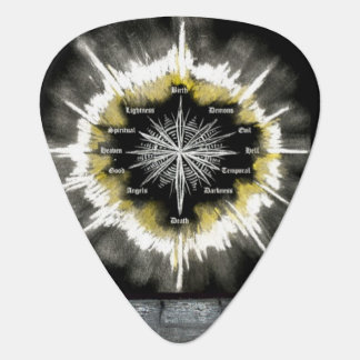 Spiritual Compass Guitar Pick
