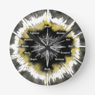 Spiritual Compass Wall Clocks