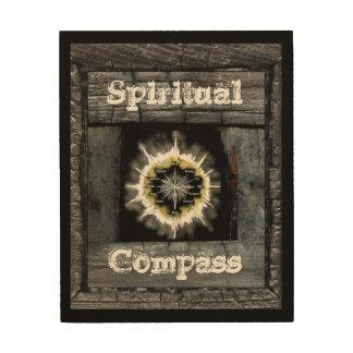 Spiritual Compass Wood Prints