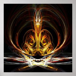 Spiritual flame - Poster