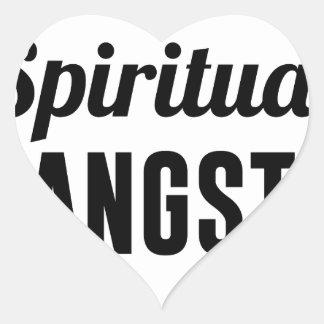 Spiritual Gangsta Heart Sticker