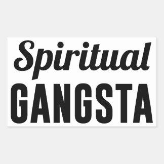 Spiritual Gangsta Rectangular Sticker