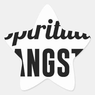 Spiritual Gangsta Star Sticker