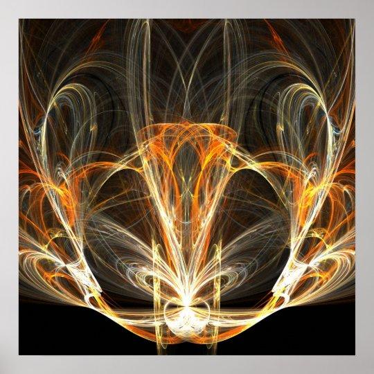 Spiritual lamp - Poster