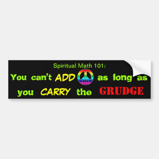 SPIRITUAL MATH 101-2hb Bumper Sticker