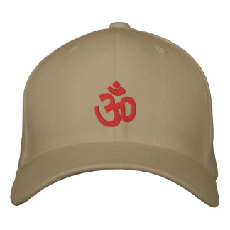Spiritual Om Sign Embroidered Hat
