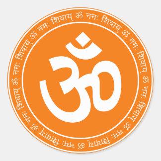 Spiritual Om Sign Sticker