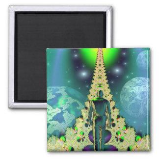 Spiritual path refrigerator magnets