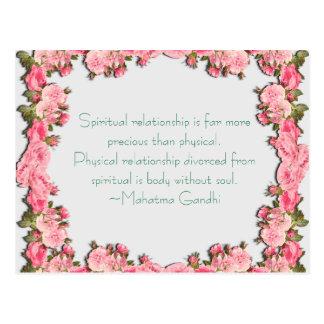 Spiritual Relationship Postcard