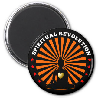 Spiritual revolution magnet