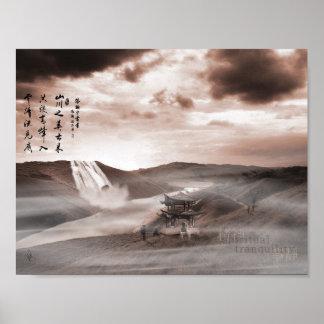 Spiritual Tranquility Poster