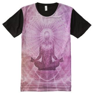 Spiritual Yoga Meditation Zen Colorful All-Over Print T-Shirt