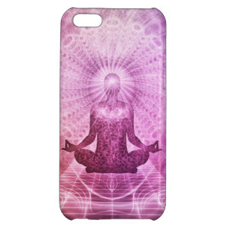 Spiritual Yoga Meditation Zen Colorful Cover For iPhone 5C