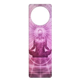 Spiritual Yoga Meditation Zen Colorful Door Knob Hangers