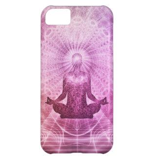 Spiritual Yoga Meditation Zen Colorful iPhone 5C Case