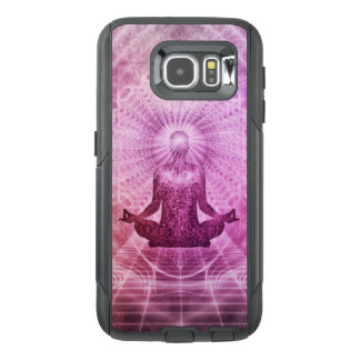 Spiritual Yoga Meditation Zen Colorful OtterBox Samsung Galaxy S6 Case