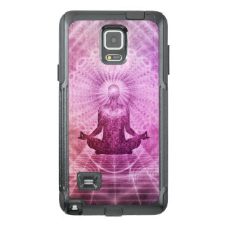 Spiritual Yoga Meditation Zen Colorful OtterBox Samsung Note 4 Case