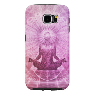 Spiritual Yoga Meditation Zen Colorful Samsung Galaxy S6 Cases