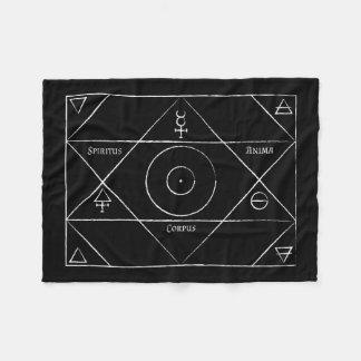 Spiritus Anima Corpus Fleece Blanket