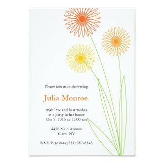 Spiro Flowers Bridal Shower 2 Invites