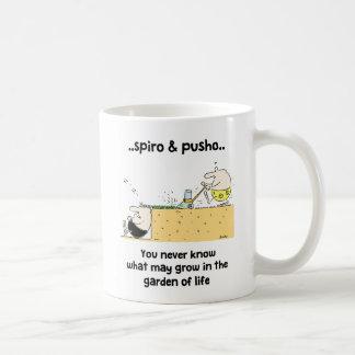 Spiro & Pusho Garden Quotes Cartoons Mug