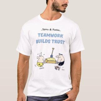 Spiro & Pusho Teamwork Quotes T-shirt