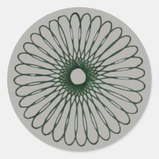 Spirograph #1 Sticker Design