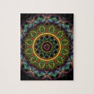 spirograph egg shaped leaves jigsaw puzzle
