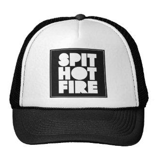 Spit Hot Fire hat